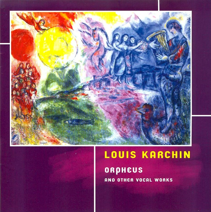 Orpheus and Other Vocal Works